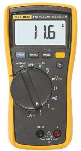 Multímetro digital HVAC Fluke 116
