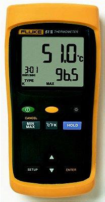 Termômetro com ponta de prova digital portátil - FLUKE 51-2