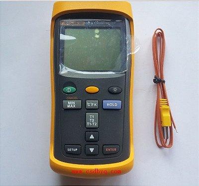 Termômetro digital com ponta de prova dupla 52 II - FLUKE 52-2