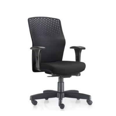 Cadeira Ergonômica Frisokar Acto, Base Metálica Rodinha em Nylon e Pistão Classe 3