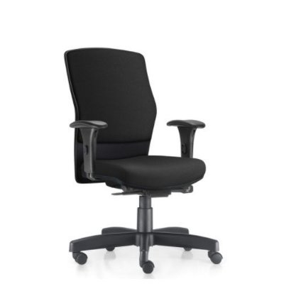 Cadeira Ergonômica Frisokar Acto Comfort, Base Metálica Rodinha em Nylon e Pistão Classe 3