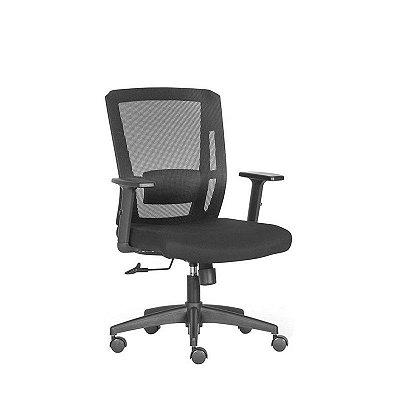 Cadeira Frisokar Baly, Base Nylon, Rodinha Nylon e Pistão Classe 3