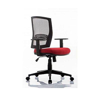 Cadeira Escritório Giratória SNAP Alta Com Relax
