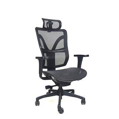 Cadeira Giratória Ergonômica DARIX Presidente Tela Mesh