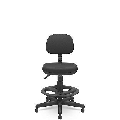 Cadeira Caixa Secretária com Apóia Pés Regulável