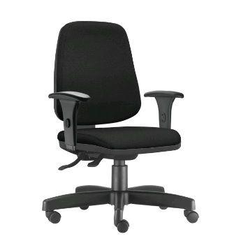 Cadeira Ergonômica Frisokar JOB Diretor, Base Metálica, Rodinha em Nylon e Pistão Classe 3