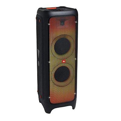 Caixa Amplificada JBL Party Box 1000, 1100W, Bluetooth, Conexão USB, DJ Pad, Show de Luzes.