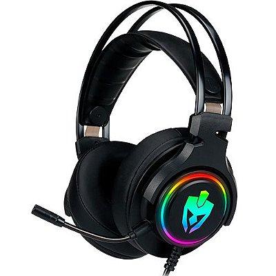Headset Gamer 7.1 Para Ps4 Pc Usb Agni Pro Led Rgb Evolut