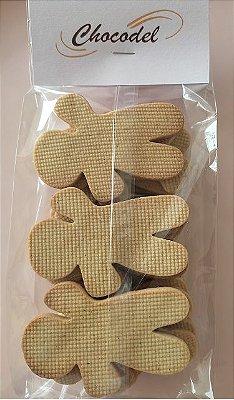 Biscoito Ginger Natal - Especiarias - 260g (18 unidades) - 8cmx5.6cm