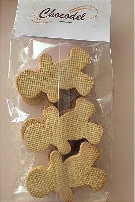 Biscoito Ginger Natal - Especiarias - 260g (22 unidades) - 8cm x5.3cm