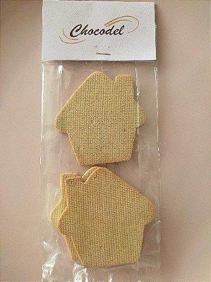 Biscoito Casinha Natal - Especiarias - 260g (12 unidades) - 8cm x 8 cm