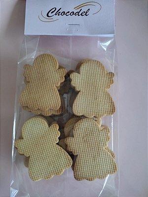 Biscoito Anjo de Natal - 260g - (26 unidades) - 6cm