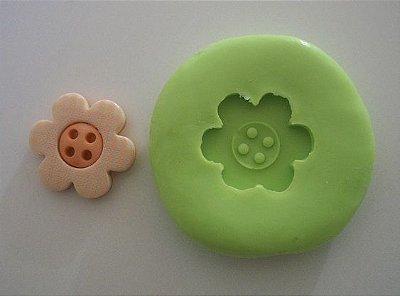 Molde de Silicone Flor (2cm)