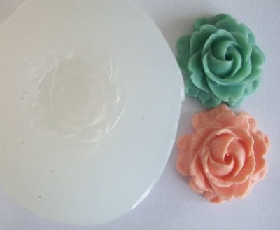 Molde de Silicone Rosa (2cm)