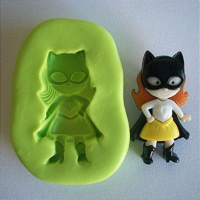 Molde de Silicone Super Girl - Mulher gato - (3 cm)