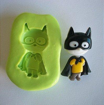 Molde de Silicone Super Heroi - Batman - (3,1 cm)