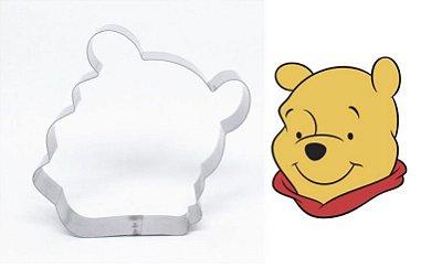 Cortador de biscoito Ursinho Pooh 9x7,6cm
