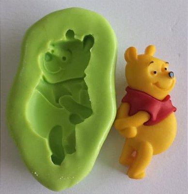 Molde de Silicone Urso Pooh - 3,8cm