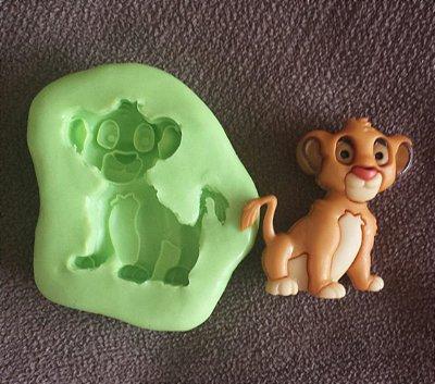 Molde de Silicone Simbá (Rei leão) 3cm