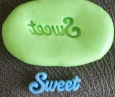 Molde de Silicone Sweet (2cm)