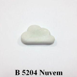 Molde de silicone Nuvem - 2,5cm x 4,3cm