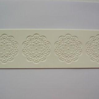 Molde de silicone Renda de Açúcar - Tira p/ decoração