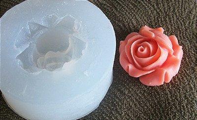 Molde de Silicone Rosa G (2,5cm)