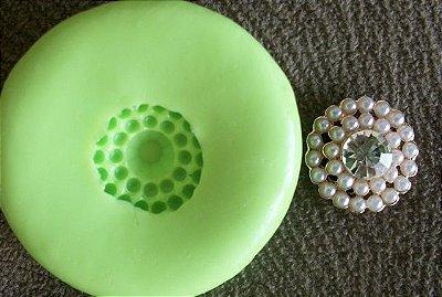 Molde de silicone Mini jóia p/ docinhos (1,4cm)