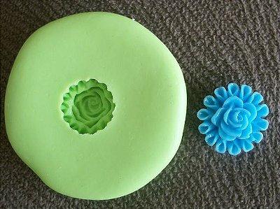 Molde de silicone Mini flor p/ docinhos (1,4cm)