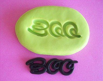 Molde de Silicone Boo (3 cm)