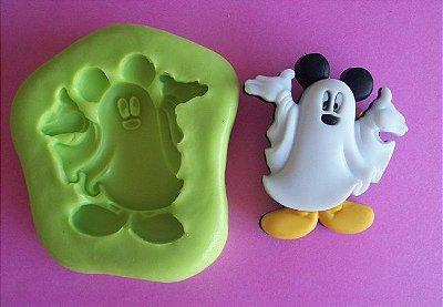 Molde de Silicone Fantasma Mickey (3,2cm)