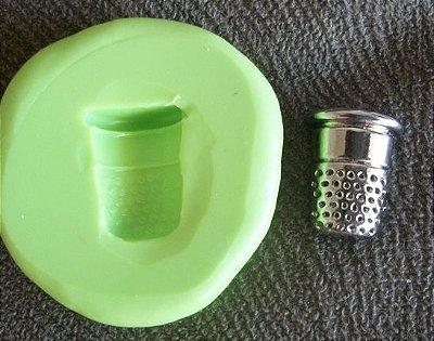 Molde de Silicone Dedal (1,5 cm)