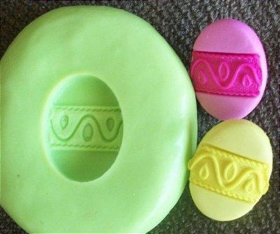 Molde de Silicone Ovo de Páscoa (1,5cm)