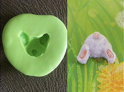 Molde de Silicone  coelho (2cm)