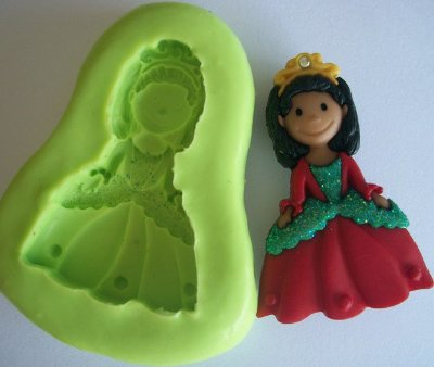 Molde de silicone Princesa 1 (3,8cm)