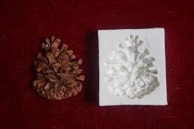 Molde de silicone Pinha de Natal (3,8cm)