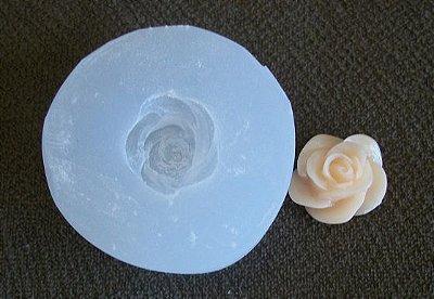 Molde silicone Incolor Rosa P (1,5cm)