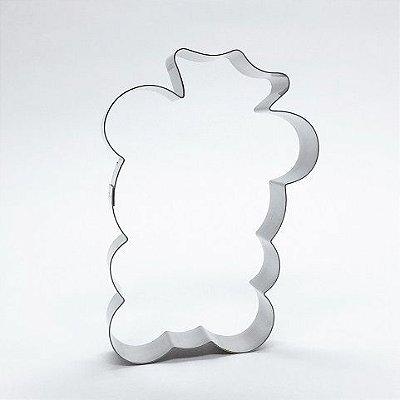 Cortador de biscoito Ursinho com coroa