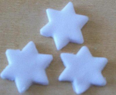 Estrelas - (1,5cm) 30 unid.