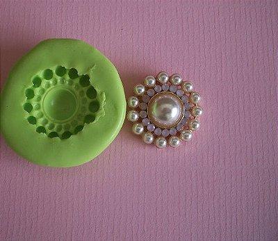Molde de silicone Jóia (2,4cm)