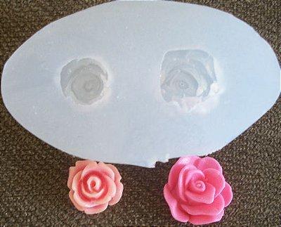 Molde de silicone Mini rosa (1,2 e1,5cm)