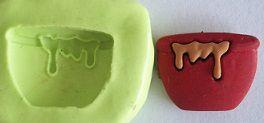Molde de Silicone Panela (1,8cm)