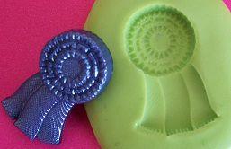 Molde de Silicone Medalha hipismo P (2cm)