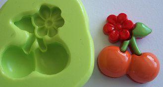 Molde de Silicone Cerejas (2,2cm)