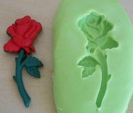 Molde de Silicone Rosa (2,6cm)