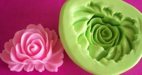 Molde de Silicone Rosa (3,5cm)