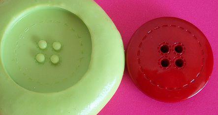 Molde de Silicone Botão (2,5cm)