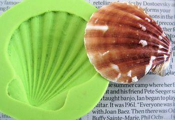Molde de Silicone Concha (5cm)