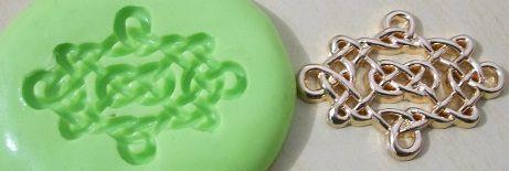 Molde de Silicone Renda p/doce (3cm)