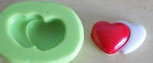 Molde de Silicone Coração P (1,5cm)